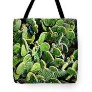 Field Of Cactus Paddles Tote Bag