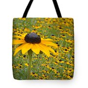 Field Of Coneflowers Tote Bag