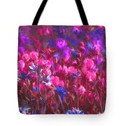 Field Of Dreams Abstract Tote Bag