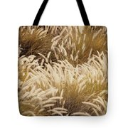 Field Of Feathers Tote Bag