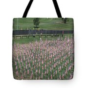 Field Of Flags - Gotg Arial Tote Bag