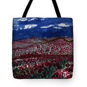 Field Of Hell Tote Bag