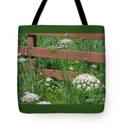Field Of Lace Tote Bag