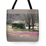 Field Of Lavender  Tote Bag