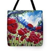 Field Of Poppies 02 Tote Bag