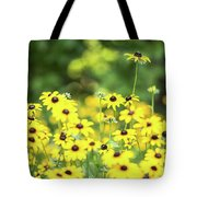 Field Of Smiles Tote Bag