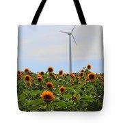 Where The Sunflowers Shine Tote Bag
