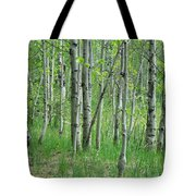 Field Of Teens Tote Bag