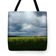 Field Of Weeds Tote Bag