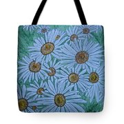 Field Of Wild Daisies Tote Bag by Kathy Marrs Chandler