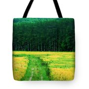 Field Of Yellow Tote Bag