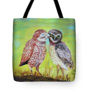 Field Owls  Tote Bag