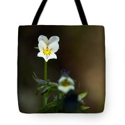 Field Pansy Tote Bag