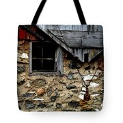 Field Stone Barn Tote Bag