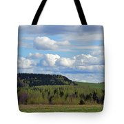 Field To Forest To Hill To Sky Tote Bag
