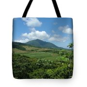 St. Kitts Fields Of Cane Tote Bag
