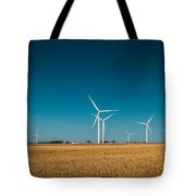 Fields Of Energy Tote Bag
