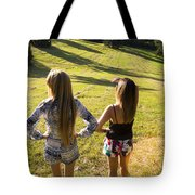 Fields Of Freedom Tote Bag
