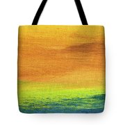 Fields Of Gold 2 - Abstract Summer Landscape Painting Tote Bag