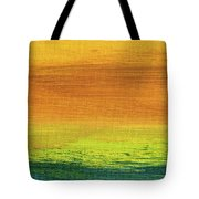 Fields Of Gold 3 - Abstract Summer Landscape Painting Tote Bag