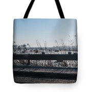Fields Of Snow Tote Bag