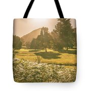 Fields Of Springtime Tote Bag