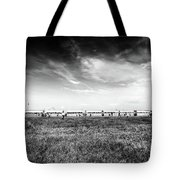 Fields Of The Elysium Locomotive Tote Bag