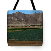 Fields Of Yuma Tote Bag