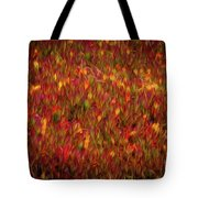 Fields On Fire Tote Bag