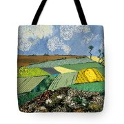 Fields To Gogh Tote Bag by Martha Ressler