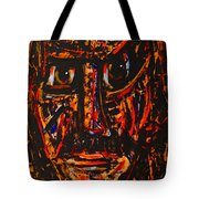 Fierce Warrior Tote Bag