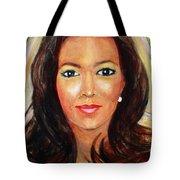 Fiercewomen Portrait Of Adrienne Tote Bag
