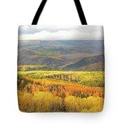 Fiery Aspen Grove Tote Bag
