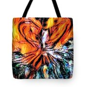 Fiery Crystal Tote Bag