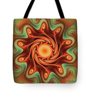 Fiery Dance Tote Bag