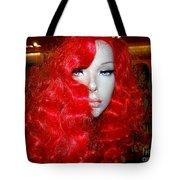 Fiery Femme Fatale  Tote Bag