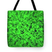 Fiery Green Tote Bag