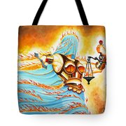 Fiery Justice Tote Bag