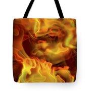Fiery Mist Tote Bag