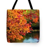 Fiery Show Tote Bag