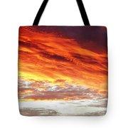 Fiery Sky Tote Bag