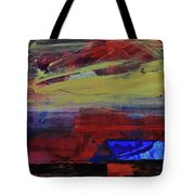 Fiery Sunset Before The Storm Tote Bag