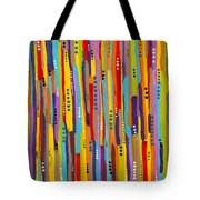 Fiesta Abstract Tote Bag