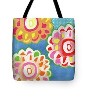 Fiesta Floral 3- Art By Linda Woods Tote Bag