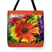 Floral Fiesta Tote Bag