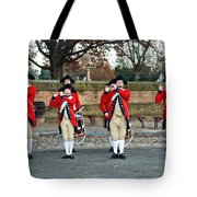 Fifes And Drums Tote Bag