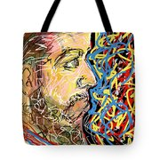 Fifteen Minute Beard Tote Bag