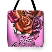 Fifth Anniversary Tote Bag