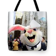 Fifth Ave Easter Bunny Tote Bag