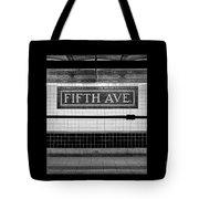 Fifth Ave Subway Tote Bag